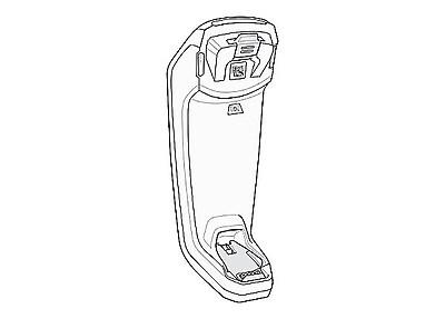 Zebra® Barcode Scanner Docking Cradle, CR8178-SC100FBWW, Docking Connectivity, White