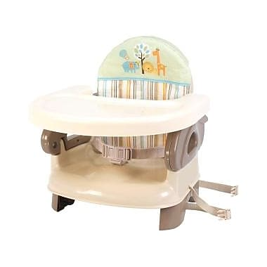 Summer Infant® Deluxe Comfort Folding Booster Seat, Neutral (13050)