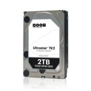 """HGST Ultrastar® 7K2 HUS722T2TALA604 2TB SATA 6 Gbps 3.5"""" Internal Hard Drive"""