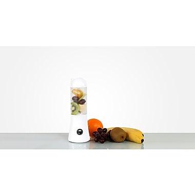 Calreps Qooca Portable USB Blender, White (QTB100W)