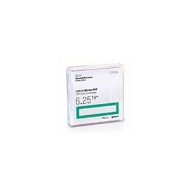 HPE - Support de données LTO-6 Ultrium 6, 6 To MP RW (C7976A)