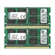 Kingston – Trousse de modules mémoire 16 Go ( 8 Go 2R x 8 1G x 64 bits x 2 pièces) SODIMM 204 broches CL11 PC3-12800