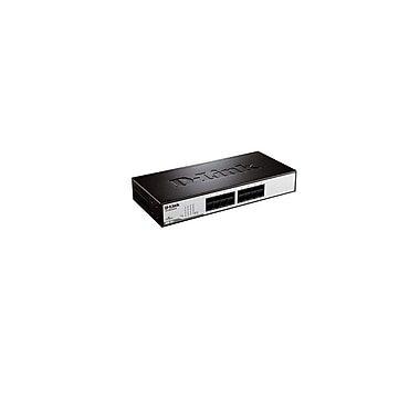 D-Link – Commutateur non administrable DSS-16+, à montage sur table/en rack, 16 ports 10/100