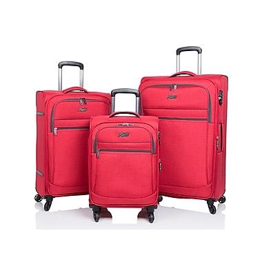 Rosetti – Ensemble de 3 valises Island Paradise, rouge