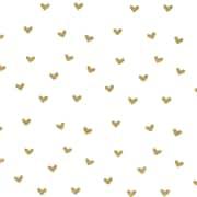 "Creative Bag Festive Tissue Paper, 20 x 30"", Gold Hearts"