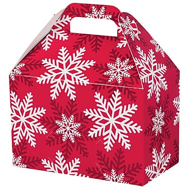 Creative Bag Mini Festive Gable Boxes, 4 x 2.5 x 2.5
