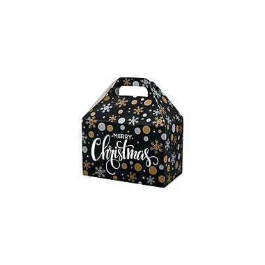 Creative Bag Festive Gable Boxes, 8.5 x 5 x 5.5