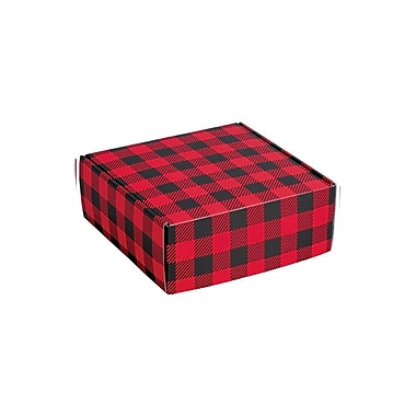 Creative Bag Holiday Gift Box , 8 x 8 x 3
