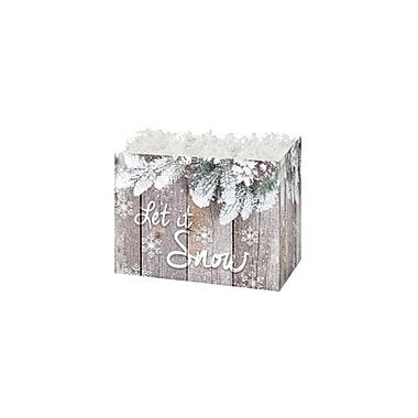 Creative Bag Small Festive Basket Boxes, 6.75 x 4 x 5