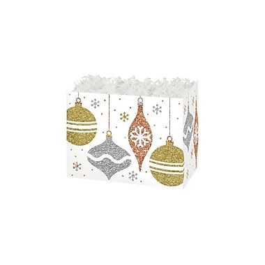 Creative Bag Large Festive Basket Boxes, 10.25 x 6 x 7.5