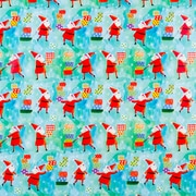 "Creative Bag Holiday Gift Wrap, 24"" x 50', Santa Delivers"