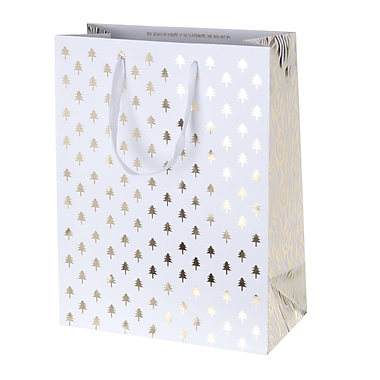 Creative Bag Holiday Paper Shopping Bags, 10 x 5 x 13