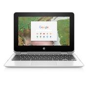 HP Chromebook x360 2MW52UA#ABA 11.6-inch Touch Screen Notebook, 1.10 GHz Intel Celeron N3350, 16 GB eMMC, 4 GB LPDDR4, Chrome OS