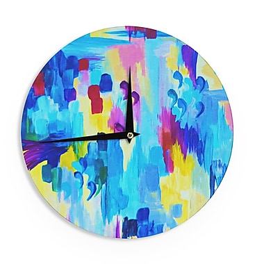 East Urban Home Ebi Emporium 'Don't Quote Me, Revisited' 12'' Wall Clock