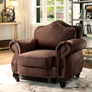 Fleur De Lis Living Barron Transitional Armchair