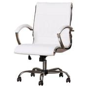 Brayden Studio Camp Mabry Coast Desk Chair; White