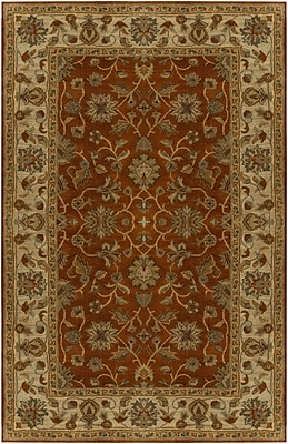 Charlton Home Stanford Terracotta Rug; Rectangle 2' x 3'