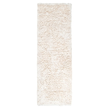 Everly Quinn Gaston Ivory Area Rug; Rectangle 2' x 3'