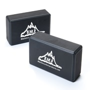 Black Mountain Products Set of Two Yoga Blocks, 2/Pack