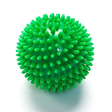 Black Mountain Products Deep Tissue Massage Ball with Spikes, Green