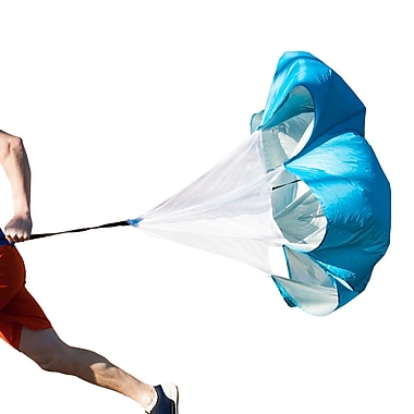 Black Mountain Products Running Parachute Resistance Speed Trainer, Red