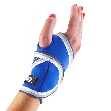 Lightweight and Breathable Neoprene Blue Wrist Brace/Wrist Compression Sleeve, Blue