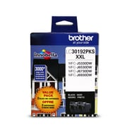 Brother Black Ink Cartridge, Super High Yield, 2/Pack (LC30192PKS)