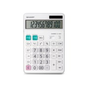 Sharp® - Calculatrice de table commerciale Xlarge 12 chiffres, écran inclinable (EL340WB)