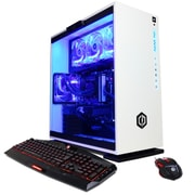 CyberPowerPC BattleBox Essential Liquid Cool SLC10100 Desktop Computer, 3.7 GHz Core i7-8700K, 2 TB HDD + 240 GB SSD, 16 GB DDR4