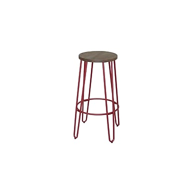 ACEssentials™ Quinn™ Barstool, Matte Red Finish (279801)