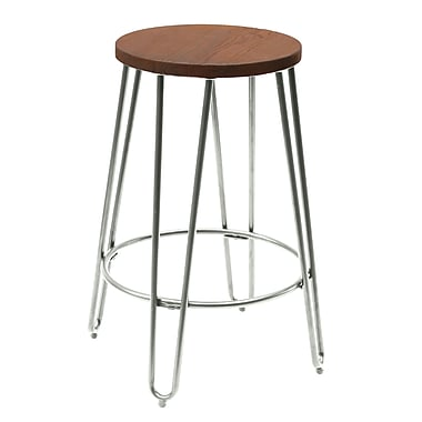 ACEssentials™ Quinn™ Counter Stool, Chrome Finish (279001)
