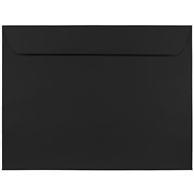JAM Paper® 9 x 12 Booklet Envelopes, Black, 250/pack (2112755h)