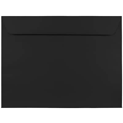 JAM Paper® 9 x 12 Booklet Envelopes, Black, 25/pack (2112755)