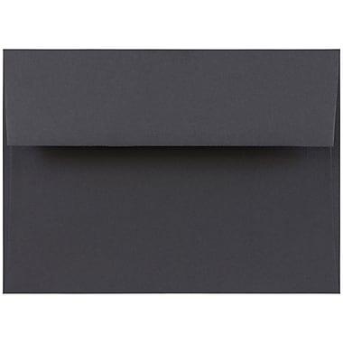 JAM Paper® A7 Invitation Envelopes, 5.25 x 7.25, Dark Grey, 50/pack (36396434I)