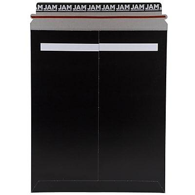 JAM Paper® Photo Mailer Stiff Envelopes with Self Adhesive Closure, 11 x 13.5, Black, Sold Individually (V0144389)