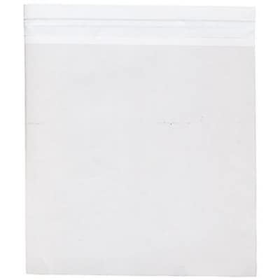 JAM Paper® Cello Sleeves with Self Adhesive Closure, 9.25 x 9.25, Clear, 100/pack (9.25X9.25CELLO)