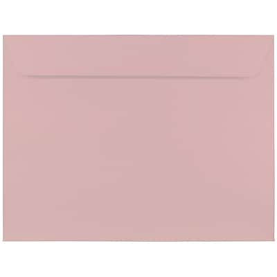 JAM Paper® 9 x 12 Booklet Envelopes, Baby Pink, 25/pack (32473588)