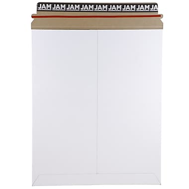 JAM Paper® Photo Mailer Stiff Envelopes with Self Adhesive Closure, 11 x 13.5, White Recycled, Sold Individually (3PSW)