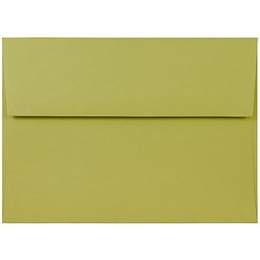 JAM Paper® A7 Invitation Envelopes, 5.25 x 7.25, Chartreuse Green, 1000/carton (21512980b)