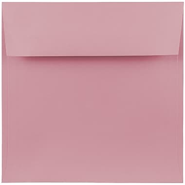 JAM Paper® 7.5 x 7.5 Square Envelopes, Baby Pink, 25/pack (327912961)