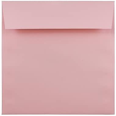 JAM Paper® 6.5 x 6.5 Square Envelopes, Baby Pink, 25/pack (21514947)