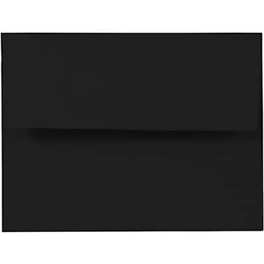JAM Paper® A2 Invitation Envelopes, 4 3/8 x 5 3/4, Black, 25/pack (114914)