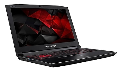 Acer Predator Refurbished G3-571-77QK 15.6 inch Laptop Computer 2.8 GHz. Intel i7, 256SDD, 16GB DDR4 SDRAM, GeForceGTX1060