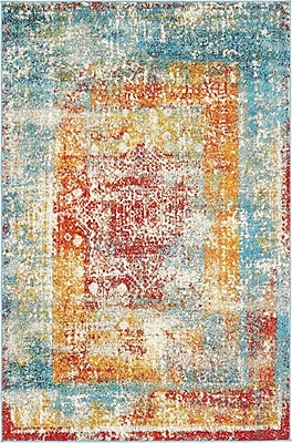 Bungalow Rose Hartell Turkish Area Rug; Rectangle 4' x 6'