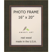Loon Peak Bourgault Bronze Wood Picture Frame; 20'' x 20''