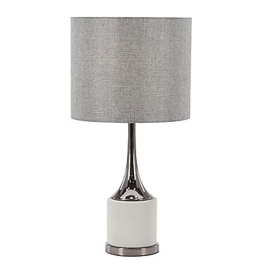 Ivy Bronx Cage Table Lamp; 23'' H x 12'' W x 12'' D