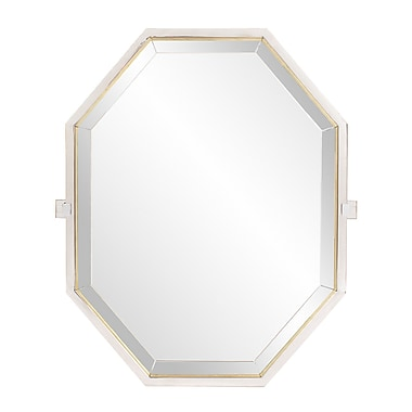Orren Ellis Leib Octagonal Accent Mirror