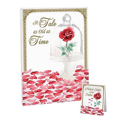 Lillian Rose Fairy Tale Rose Petal Signing Guest Book