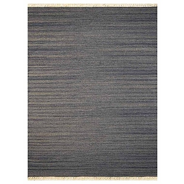 Bloomsbury Market Corwin Contemporary Hand-Woven Wool Silver Area Rug; 8' x 10'