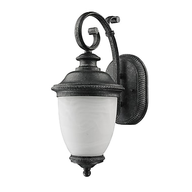 Astoria Grand Diop Frosted Outdoor Coach Lamp (Set of 2)